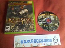 KINGDOM UNDER FIRE THE CRUSADERS  MICROSOFT XBOX JEU SANS NOTICE VIDEO PAL