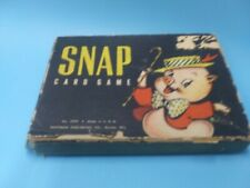 Vintage Whitman SNAP Card Game #2999