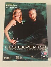 Coffret DVD Les experts Las Vegas saison 5 Partie 1 - VF