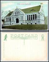 """731 ~ Augusta Maine/"""" Linen Postcard VGC Vintage 1930-40/'s /""""Y.M.C.A"""