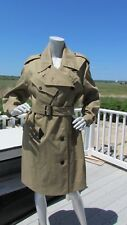 NEW 18 20 BURBERRY London trench coat $1495 Enderby military mac assymetrical