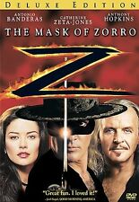 The Mask of Zorro (DVD, 2005, Deluxe Edition)