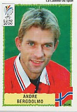 N°238 ANDRE BERGDOLMO NORGE NORWAY PANINI EURO 2000 STICKER VIGNETTE