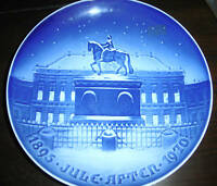 B&G DENMARK THE ROYAL PALACE PORCELAIN COLLECTORS PLATE