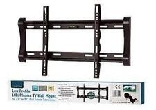 "Lloytron T311S VESA 75 100 200 Black LCD Plasma TV Wall Mount Static 23"" - 37"""
