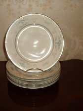 FINE CHINA OF JAPAN DIANE EIGHT BREAD PLATES WADE