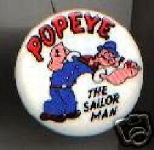 Vintage pin POPEYE the SAILOR Man pinback button