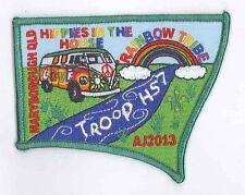 AJ2013 - AUSTRALIA SCOUT NATIONAL JAMBOREE - TROOP H57 SCOUTS BADGE