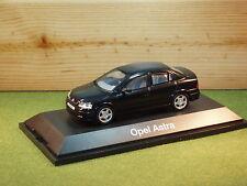 Opel Astra Saloon / Vauxhall Astra G 4 Door in  Black 1/43rd Scale