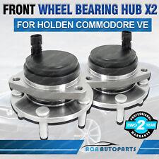 2 x COMMODORE VE Front Wheel Bearing Hubs With ABS HOLDEN Sedan/Wagon/Ute V6 V8
