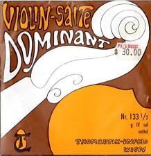 "THOMASTIK-INFELD 1/2 SIZE VIOLIN SINGLE ""G 4"" STRING 133 DOMINANT SYNTHETIC CORE"