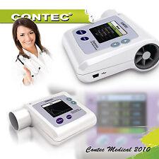CONTEC spiromètre Logiciel PC pulmonaire  La fonction pulmonaire SP10 Spirometer