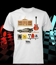 Back to the Future T-shirt vintage film distr kids men women christmas gift idea