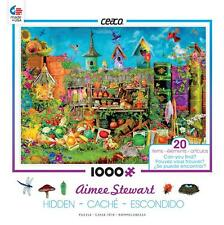 CEACO AIMEE STEWART HIDDEN IMAGES PUZZLE IN THE GARDEN 1000 PCS #3386-1