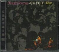 U.K. Subs Crash Course - Live CD-Brand New