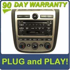 03 04 05 NISSAN Murano BOSE Satellite Radio 6 Disc Changer CD Cassette Player