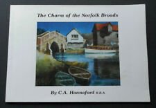 The Charm of the Norfolk Broads-Hannaford-Tour Guide-2000-Mint-Illustrated-PB