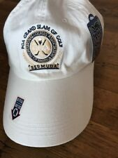 PGA Grand Slam of Golf Bermuda Hat Cap Adjustable Casual Cut White NEW WITH TAGS
