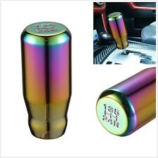 Universal Car Auto 5 Speed Shifter Lever Gear Shift Knob Aluminum Alloy Colorful