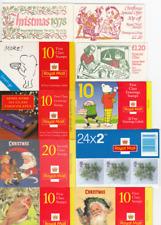 GB Christmas & Greetings  Booklets 1978 - 2018