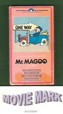 """MR. MAGOO VOLUME II"" (Columbia Pictures Home Entertainment) 4 cartoons vhs RARE"