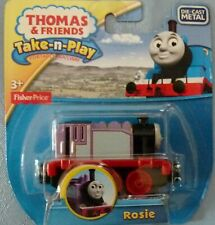 Thomas & Friends Take-n-Play Rosie Die Cast Metal Magnetic NEW