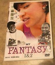 My Fantasy DVD 1 & 2 in original case w/ insert great shape Sanga African Movie