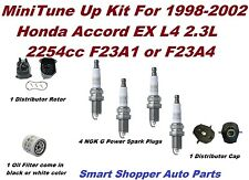 Tune Up Kit for 98-02 Honda Accord Distributor Cap, Rotor, Spark Plug, OiFilter