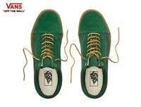Vans Gum Sole Old Skool Skate Green Fashion Sneakers,Shoes Men's VN0A38G1UKE