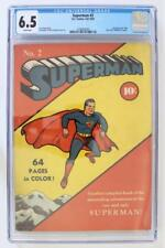 Superman #2 - CGC 6.5 FN+ Full Page Ad for New Yorks World's Fair Comic