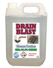 DRAIN CLEANER - Anti Bacteria. Kill germs 99.9% CHEMICALSUPERSTORE