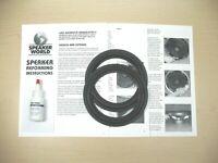 "Klipsch 2+ 6"" Subwoofer ReFoam Repair Kit- Klipsch Promedia 4.1 Syst."