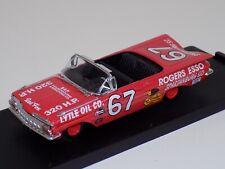 1/43 Quartzo Chevrolet Impala Coupe 1959 NASCAR David Pearson #67 1002