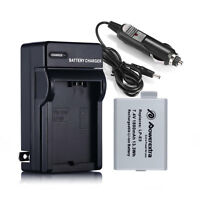 LP-E5 LPE5 Battery +Charger For Canon EOS 450D 500D 1000D Rebel XS XSI Camera
