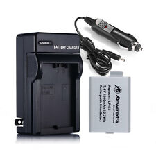 LP-E5 LPE5 Battery + Charger For Canon EOS 450D 500D 1000D Rebel XSI XS Camera