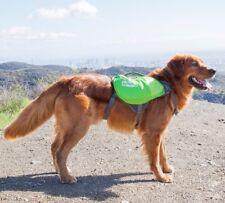 Outward Hound DayPak Dog Backpack Adjustable Saddlebag Style Hiking Gear Blue-M