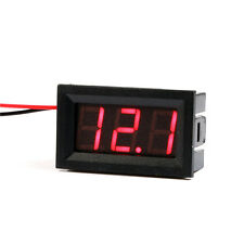 100* Led Car 3.2-30V Battery Voltage Meter Monitor Voltage Meter Monitor 12v 24v