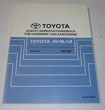 Werkstatthandbuch Toyota RAV 4 / CLA20 / 21 Karosserie / Fahrwerk, St. 05/2001