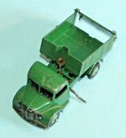 DINKY Meccano England original 1948 BEDFORD END TIPPER 25m light green hubs RARE