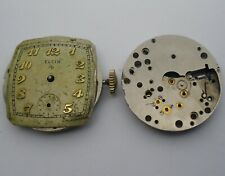 Elgin 683 Movement x 2 Repair or Parts 1951-55 Movimientos Elgin 683
