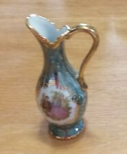 New French Limoges Miniature 24k Gold Pitcher -- Selling matching items