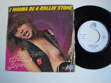"""NADINE EXPERT: I wanna be a rollin' stone 7"""" 45T AB 711802 medley Rolling Stones"""