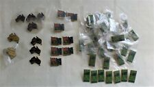 BULK LOT OF 49 AUSTRALIA DAY PIN BADGES - BARGAIN - 2000, 2001, 2002 & 2004