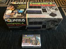 MATTEL AQUARIUS COMPUTER & GAME SYSTEM, W/KEYBOARD/MINI-EXPANDER/NIGHTSTALKER