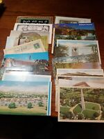 Lot of 23 Vintage Postcards Mixed Lot Some With Stamps