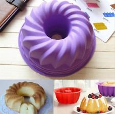 10Pcs Moule Cuisson Silicone Bakeware Cuisine Pain Gâteau Forme Rond Décor Outil