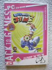PC CD Rom Spiel Earthworm Jim 3D (PC, 2005) Jump `N´Run