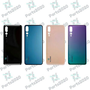 Rear Back Glass Battery Cover For Huawei P20 PRO CLT-L09 With Adhesive