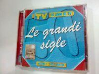 CD LE GRANDI SIGLE VOLUME 1 SIGLE VARIETA' TV SORRISI E CANZONI 50 ANNI DI TV