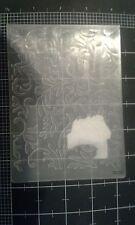 Cuttlebug embossing folder - Unpackaged - Flourish - Provo Craft